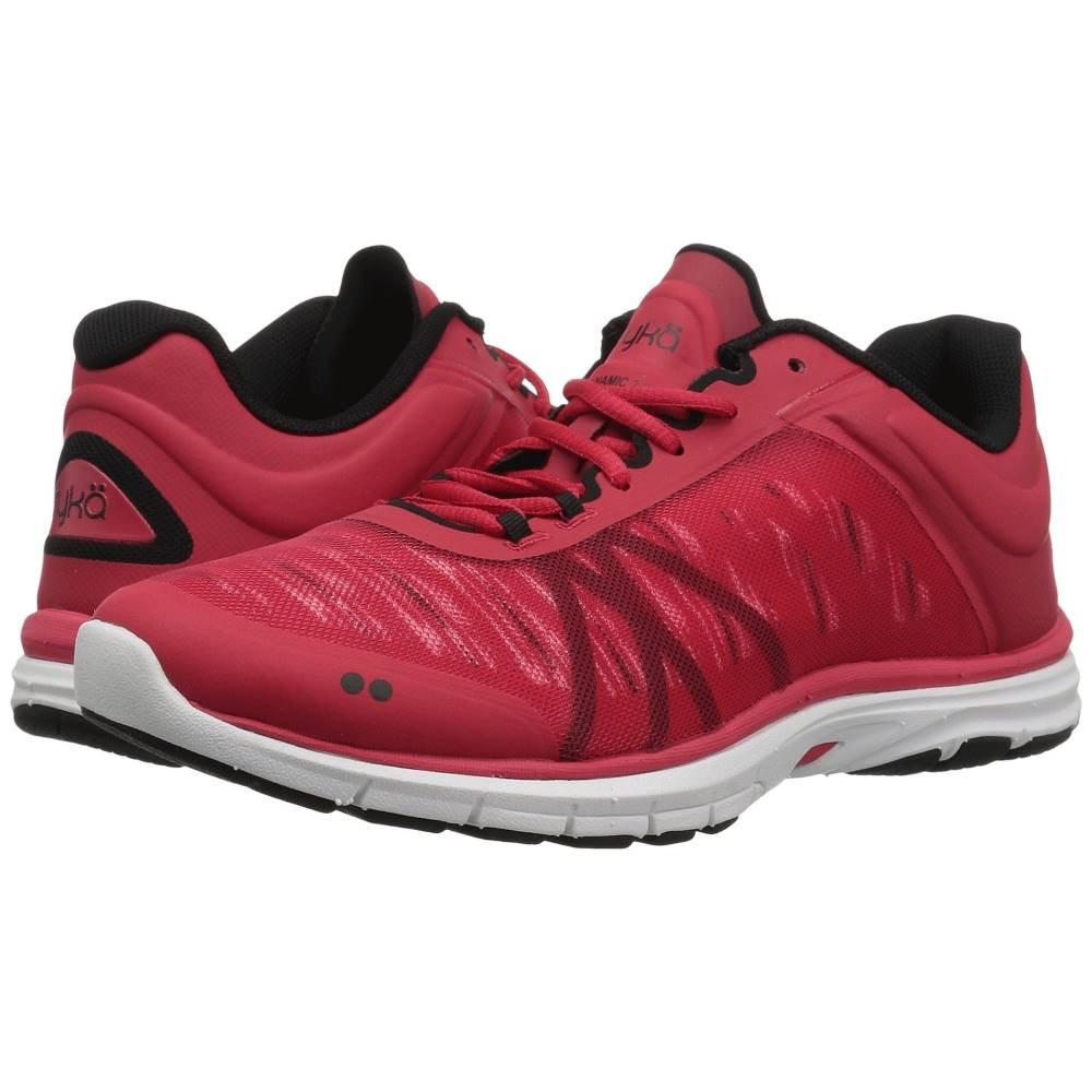 ライカ レディース フィットネス・トレーニング シューズ・靴【Dynamic 2.5】Reverb Red/Black/White