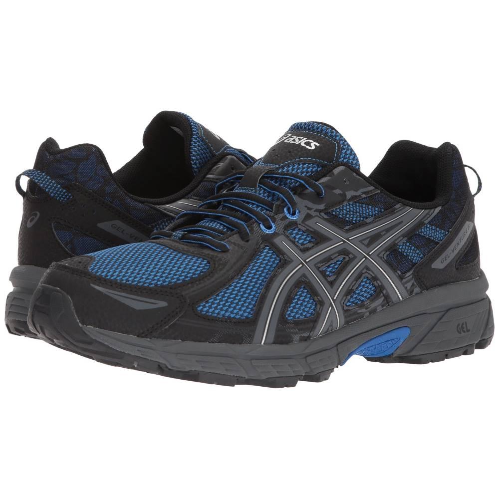 人気の春夏 アシックス メンズ ランニング・ウォーキング アシックス Blue/Black シューズ Blue/Victoria・靴【GEL-Venture 6】Victoria Blue/Victoria Blue/Black, シンマチ:f20031fd --- mrdc.com.br