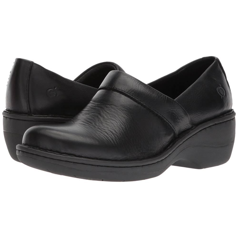 ボーン レディース シューズ・靴 サンダル・ミュール【Toby Duo】Black Full Grain Leather