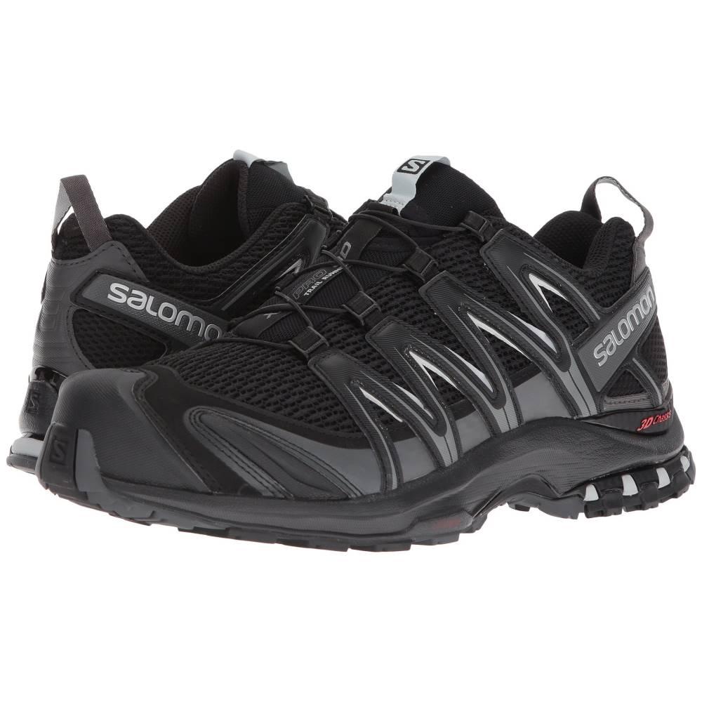 サロモン メンズ ランニング・ウォーキング シューズ・靴【XA Pro 3D Wide】Black/Magnet/Quiet Shade