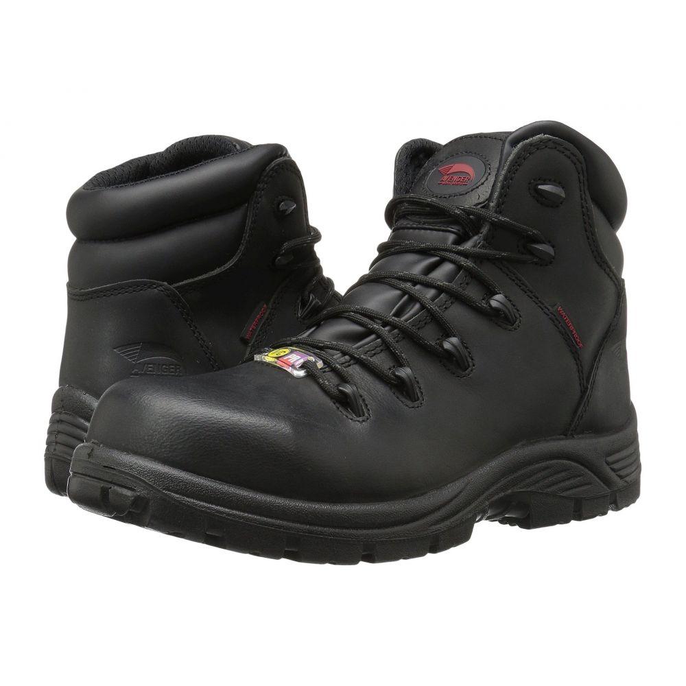 アベンジャー メンズ シューズ・靴 ブーツ【A7223 Composite Toe】Black