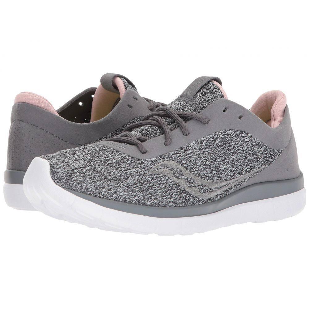 サッカニー レディース ランニング・ウォーキング シューズ・靴【Liteform Escape】Grey/Blush