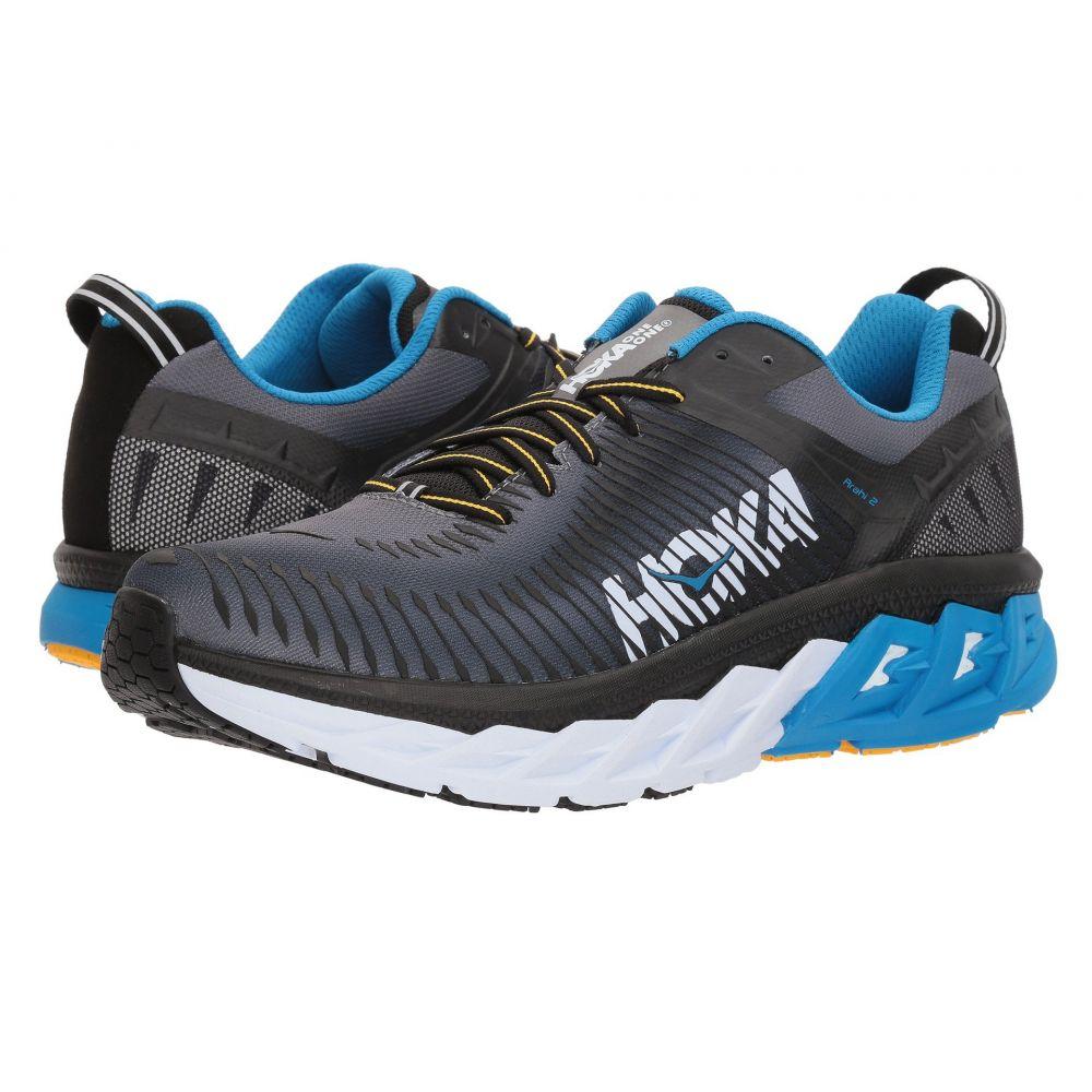 ホカ オネオネ メンズ ランニング・ウォーキング シューズ・靴【Arahi 2】Black/Charcoal Gray