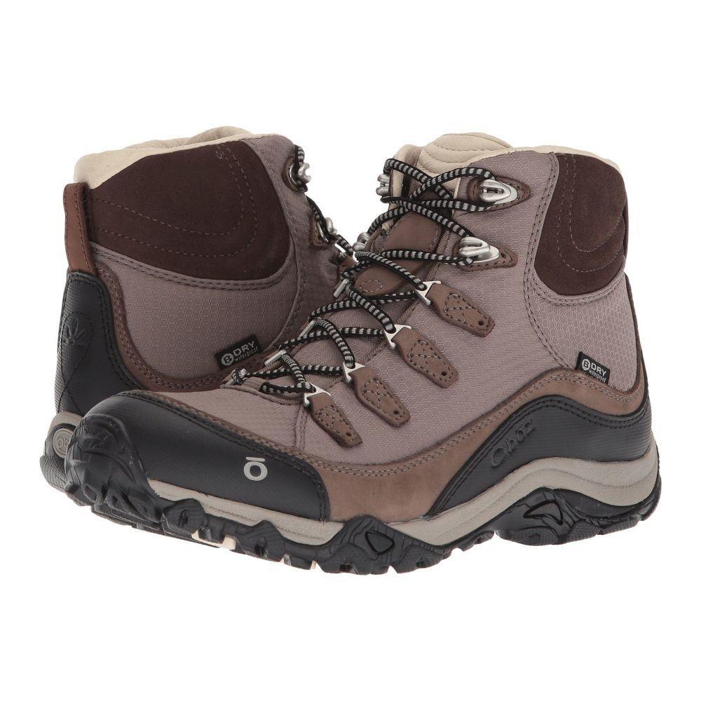 オボズ レディース ハイキング・登山 シューズ・靴【Juniper Mid BDry】Mocha