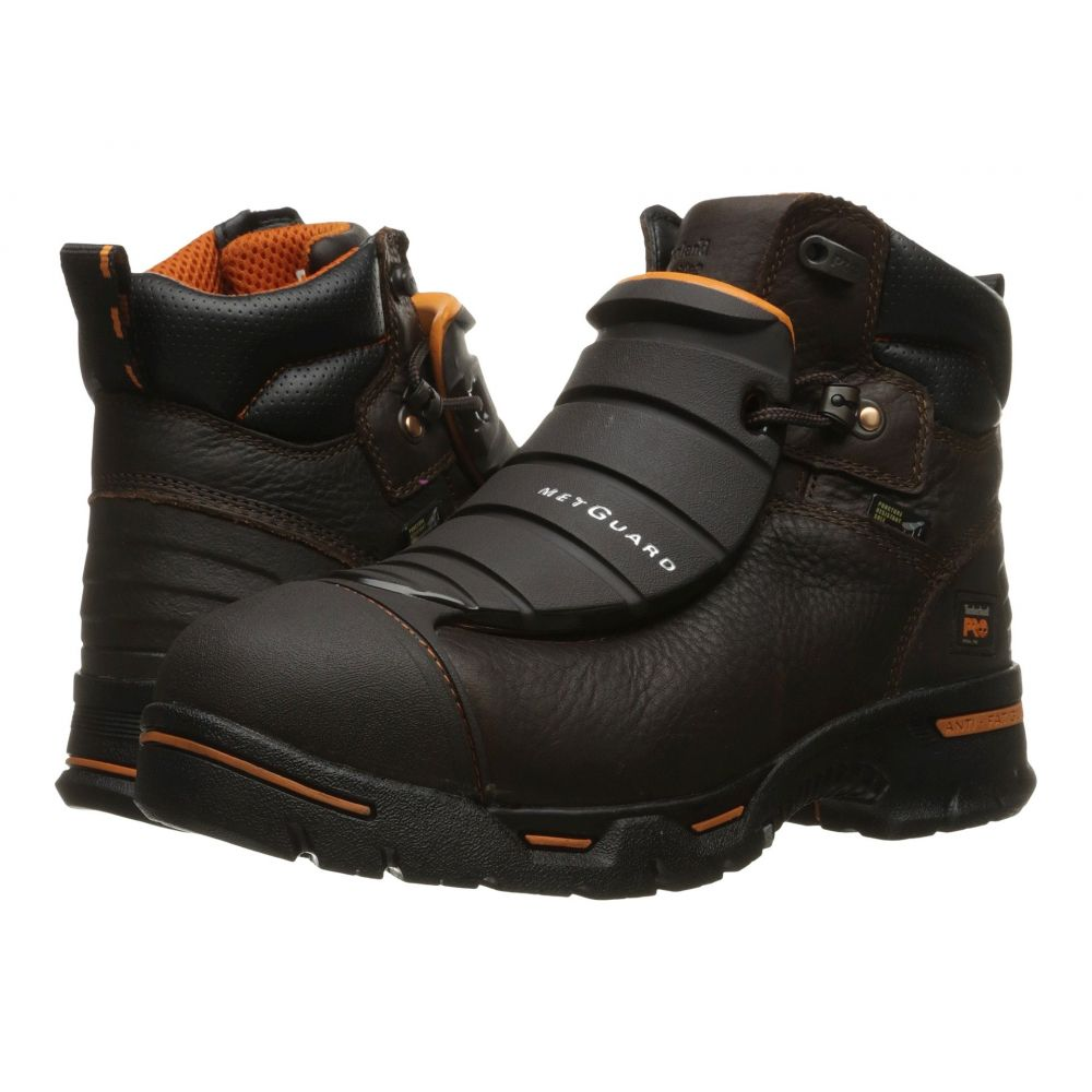 ティンバーランド メンズ シューズ・靴【Endurance 6 External Met Guard Steel Toe】Brown Full Grain Leather