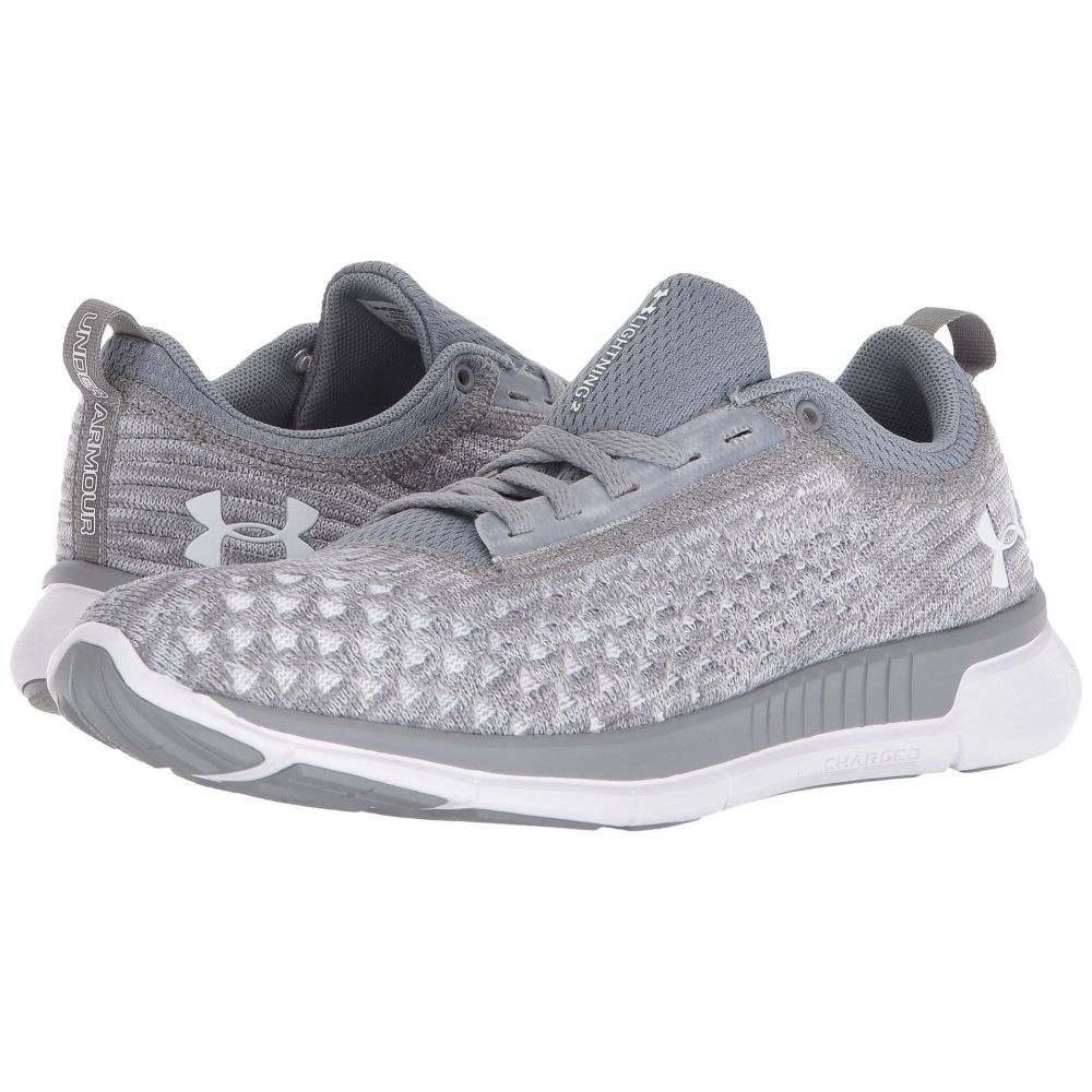 アンダーアーマー レディース ランニング・ウォーキング シューズ・靴【UA Lightning 2】Steel/White/White