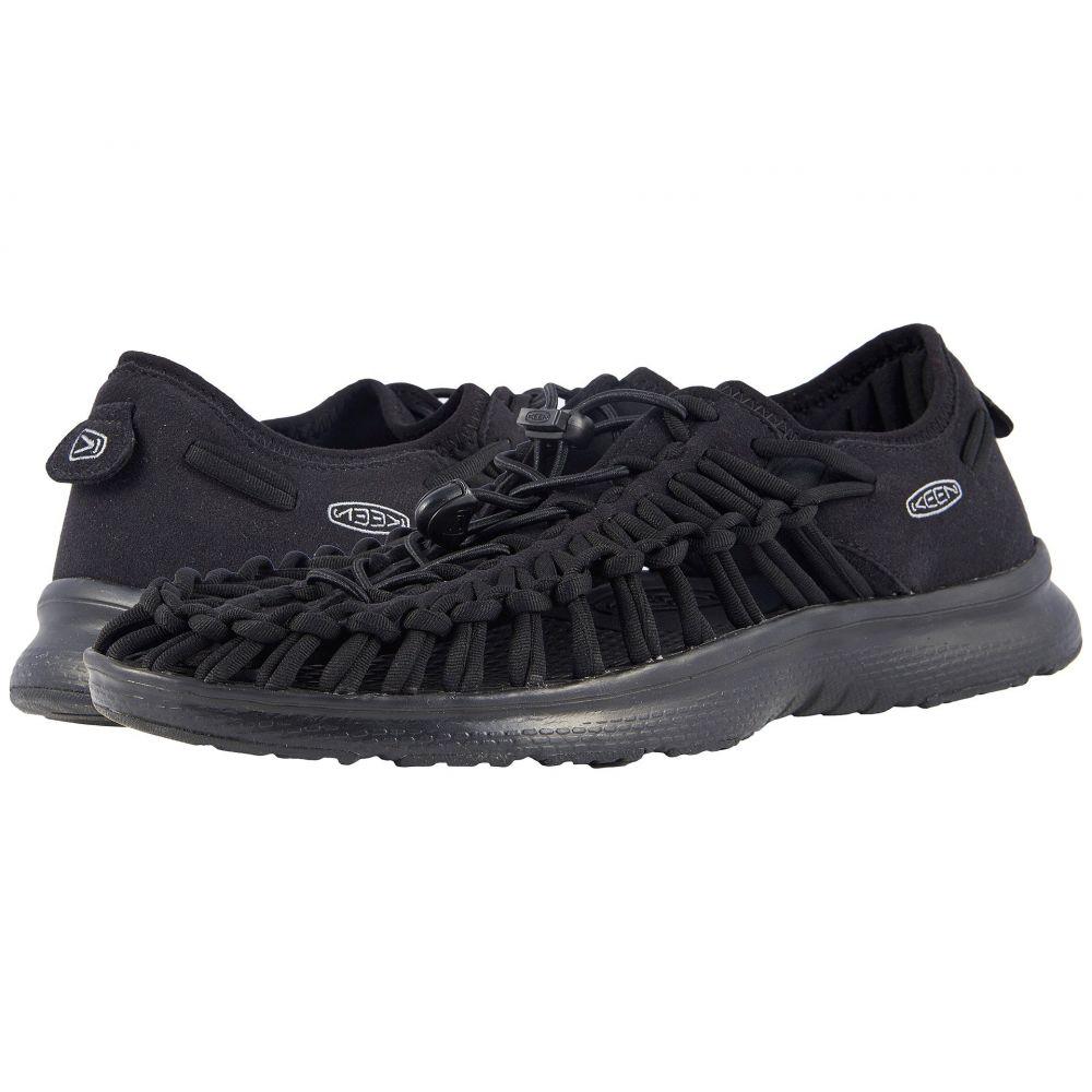 キーン メンズ シューズ・靴【Uneek O2】Black/Black