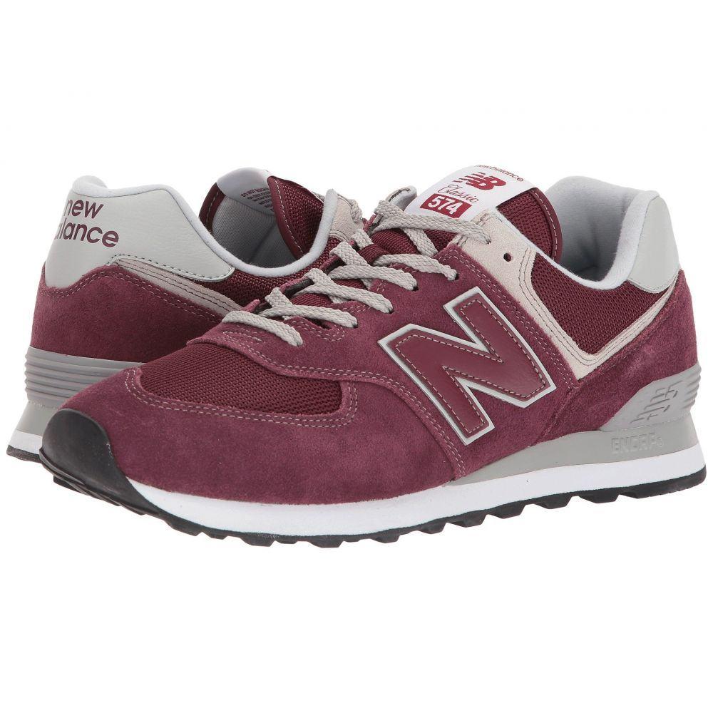 ニューバランス メンズ シューズ・靴【ML574v2】Burgundy/Burgundy