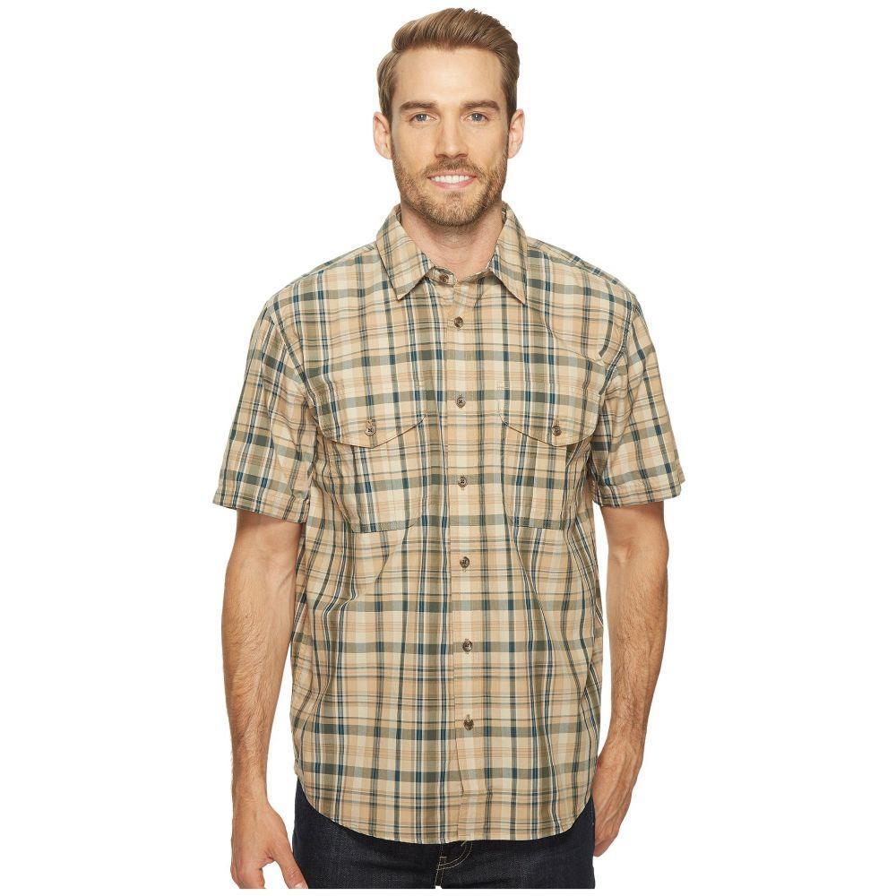 フィルソン メンズ トップス 半袖シャツ【Short Sleeve Feather Cloth Shirt】Khaki/Olive/Blue Plaid
