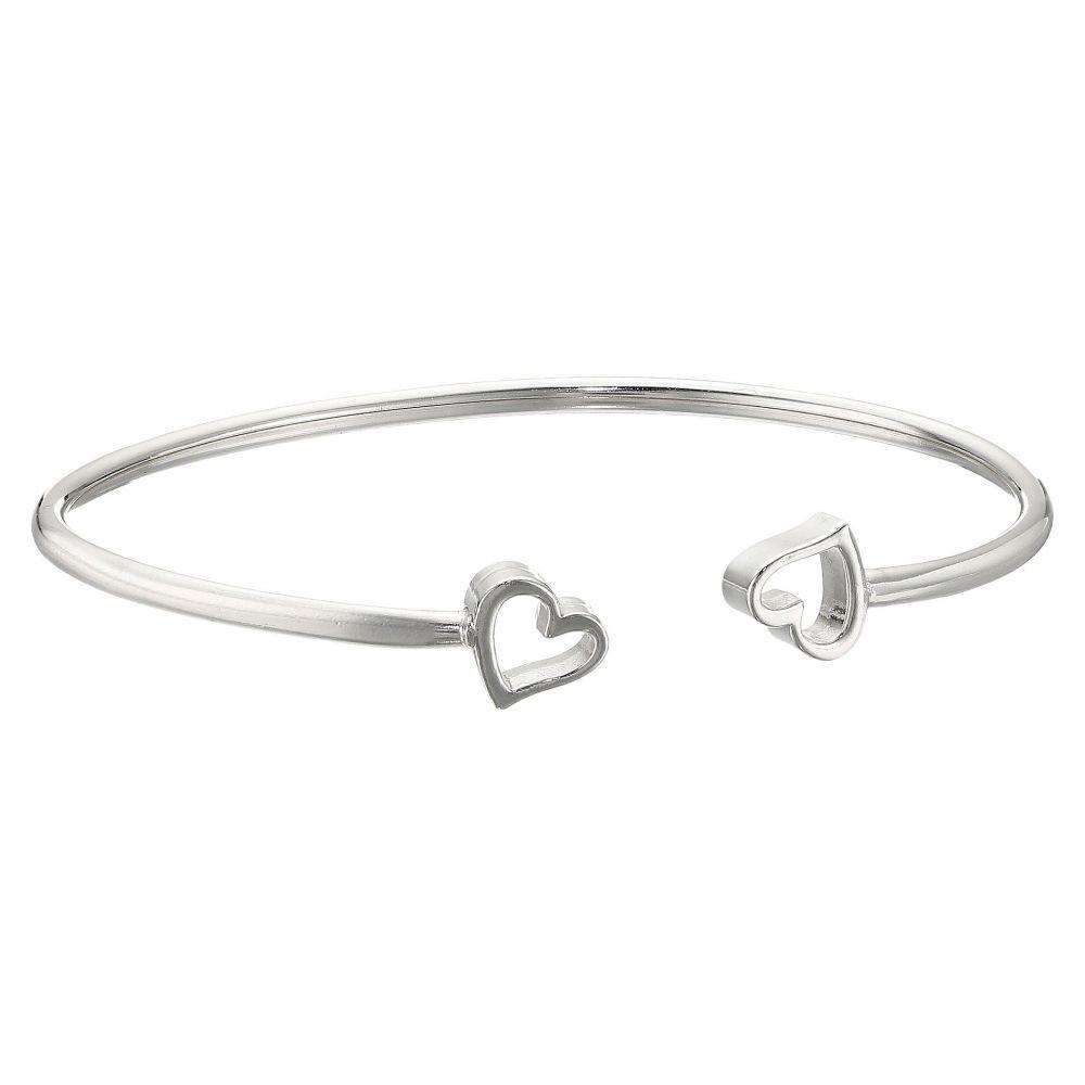 アレックス アンド アニ レディース ジュエリー・アクセサリー ブレスレット【Formidable Heart Cuff Bracelet】Sterling Silver