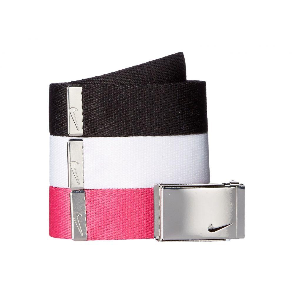 ナイキ レディース ベルト【3-in-1 Web Pack】Black/White/Vivid Pink