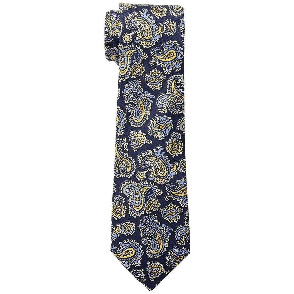 ラルフ ローレン メンズ ネクタイ【Small Paisley Tie】Navy