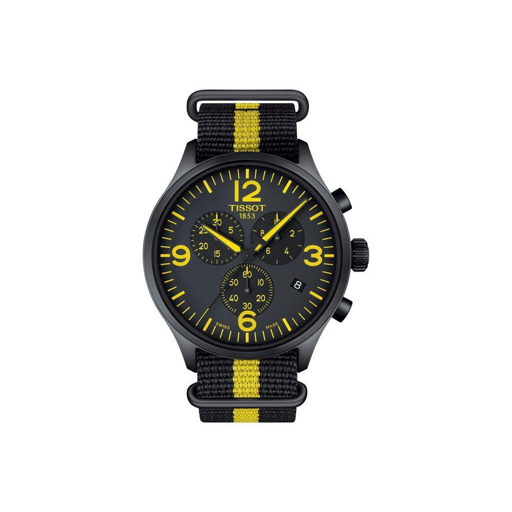 ティソ メンズ 腕時計【Chrono Xl Tour De France Collection - T1166173705700】Silver/Yellow/Black