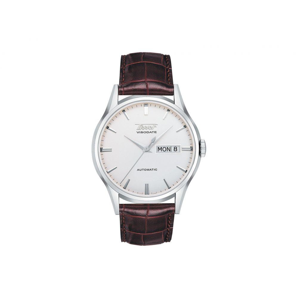 ティソ メンズ 腕時計【Heritage Visodate Automatic - T0194301603101】Silver/Brown