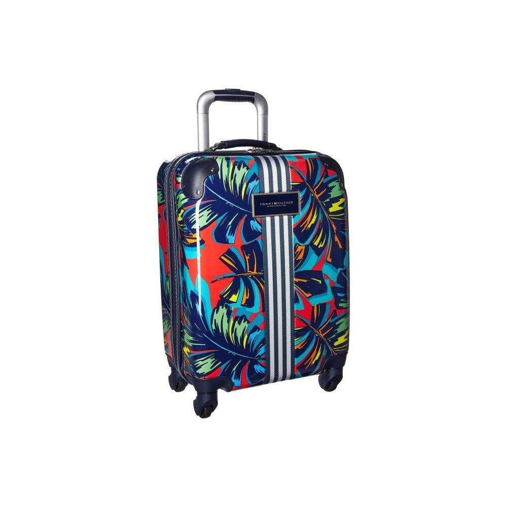 トミー ヒルフィガー レディース バッグ スーツケース・キャリーバッグ【TH-683 Pineapple Palm 21 Upright Suitcase】Red Floral
