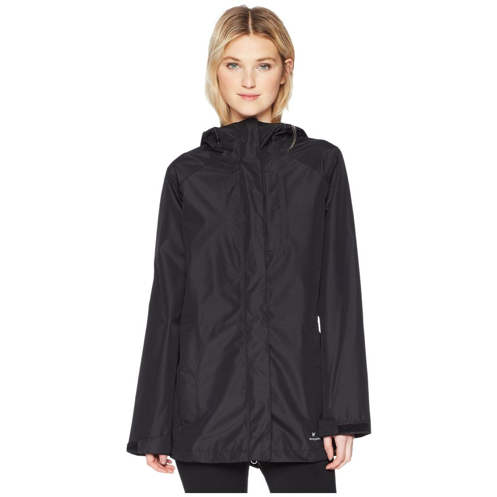 ホワイトシエラ レディース アウター レインコート【Sierra Guide 2.5 Layer Rain Jacket】Black