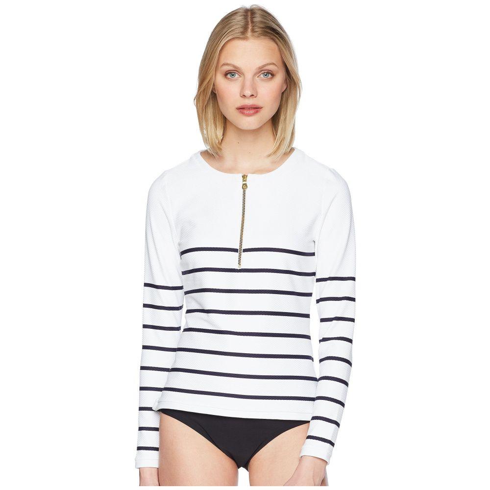 ハイジ クライン レディース 水着・ビーチウェア ラッシュガード【Core Textured Rash Vest】Nautical