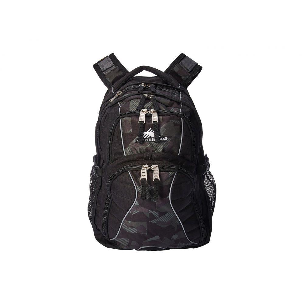 ハイシエラ レディース バッグ バックパック・リュック【Swerve Backpack】Black/Shattered Camo