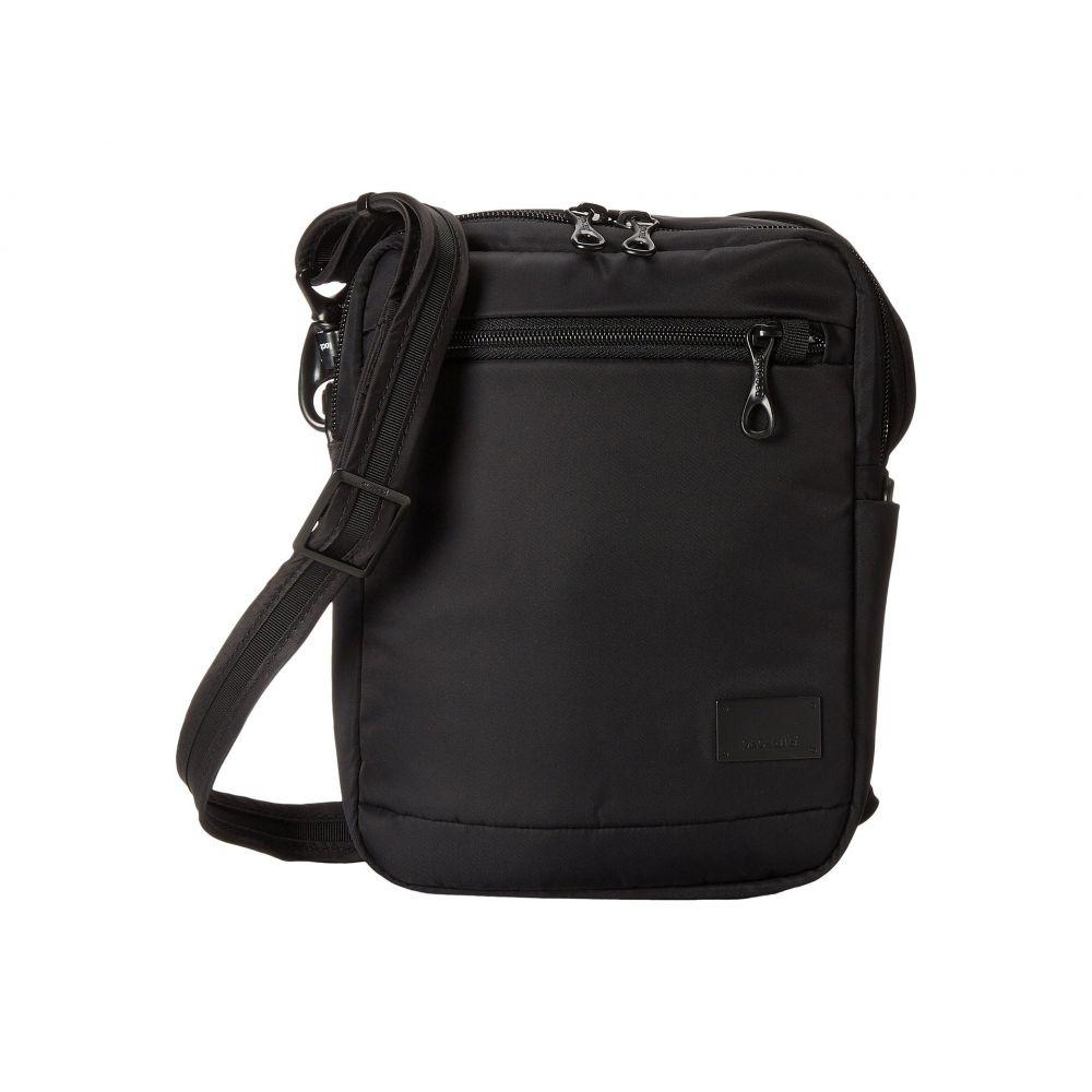 パックセイフ レディース バッグ ショルダーバッグ【Citysafe CS75 Anti-Theft Crossbody Travel Bag】Black