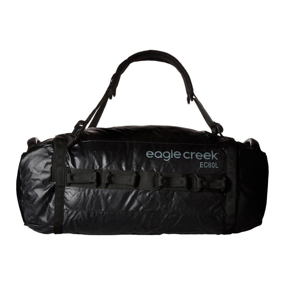 エーグルクリーク レディース バッグ ボストンバッグ・ダッフルバッグ【Cargo Hauler Duffel 60 L/M】Black