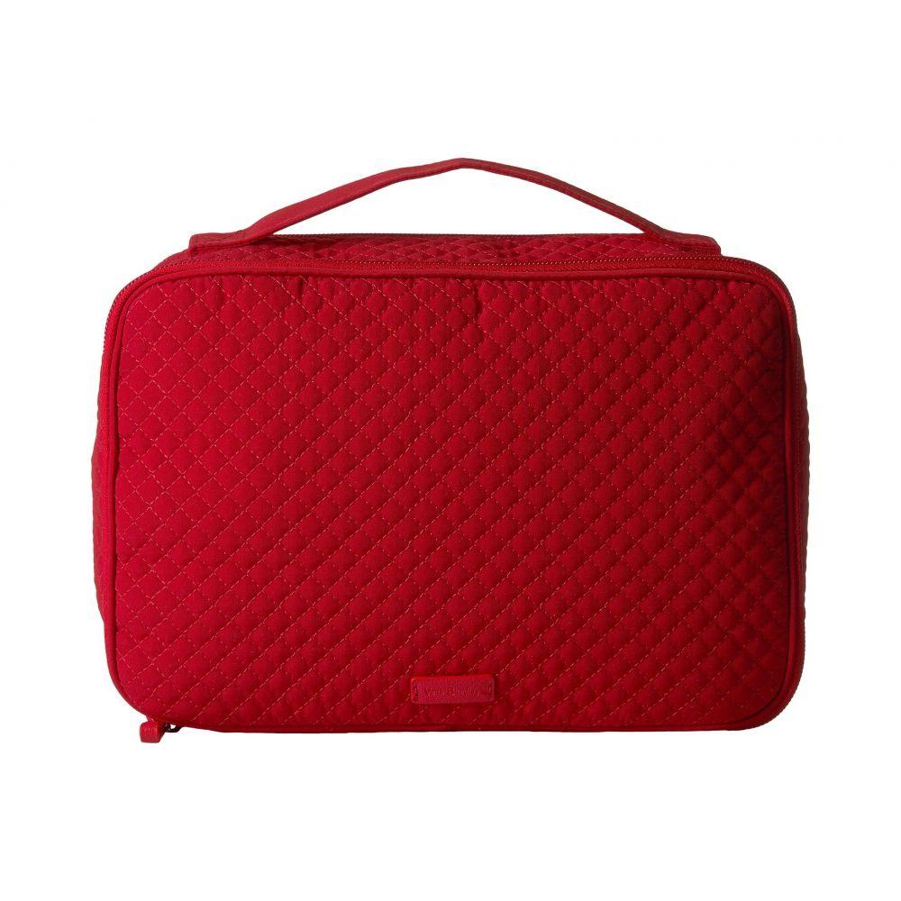 ヴェラ ブラッドリー レディース 雑貨【Iconic Large Blush & Brush Case】Cardinal Red