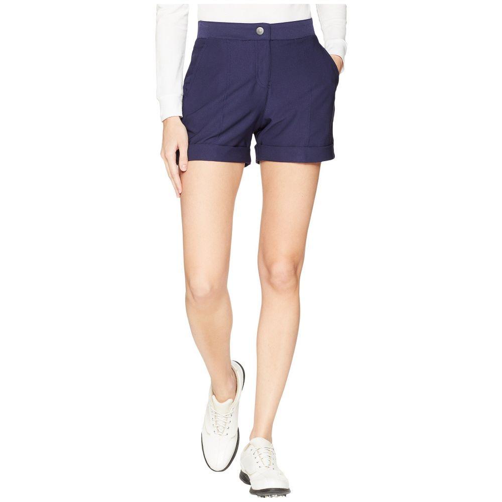 プーマ レディース ゴルフ ボトムス・パンツ【Solid Short Shorts】Peacoat