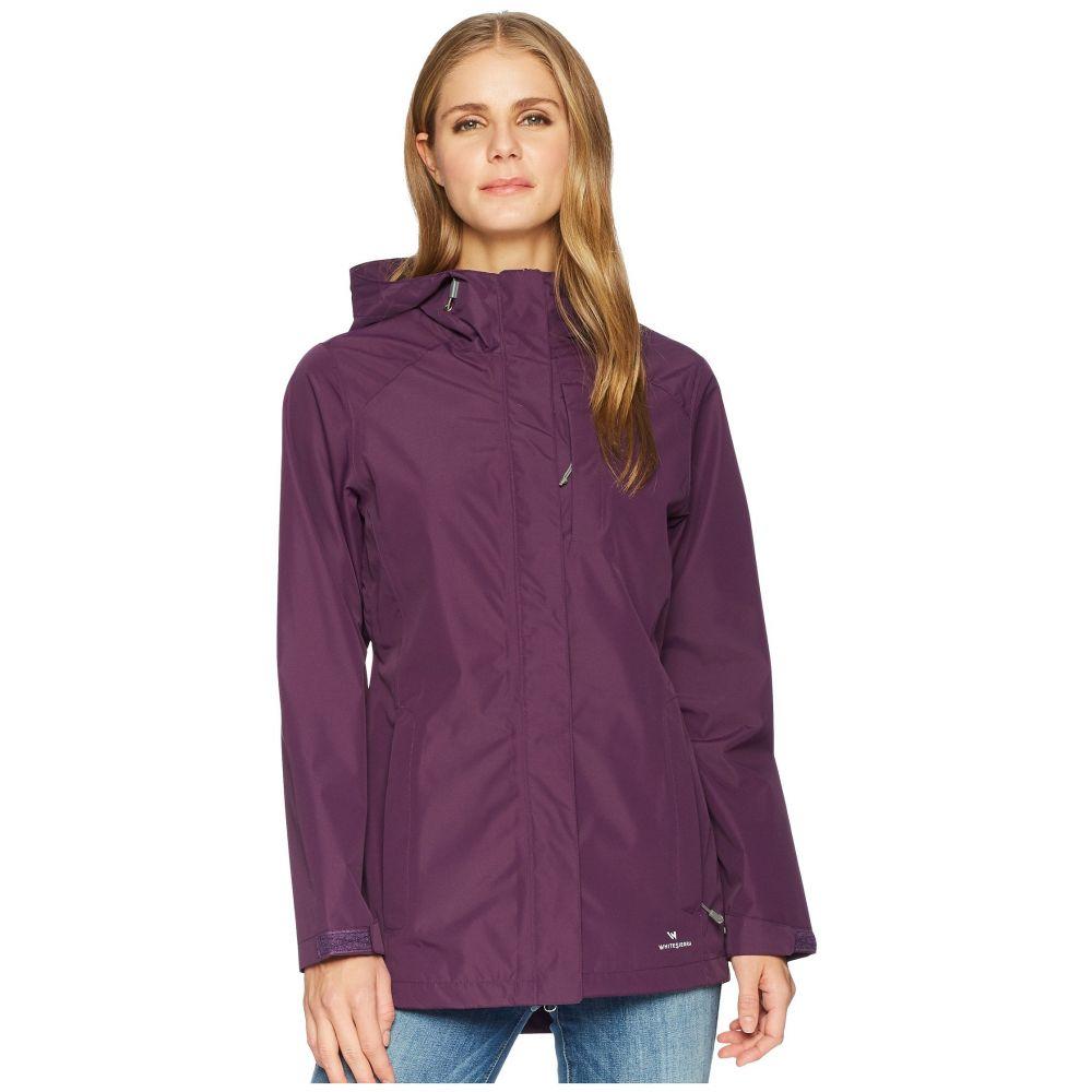 ホワイトシエラ レディース アウター レインコート【Sierra Guide 2.5 Layer Rain Jacket】Shadow Purple