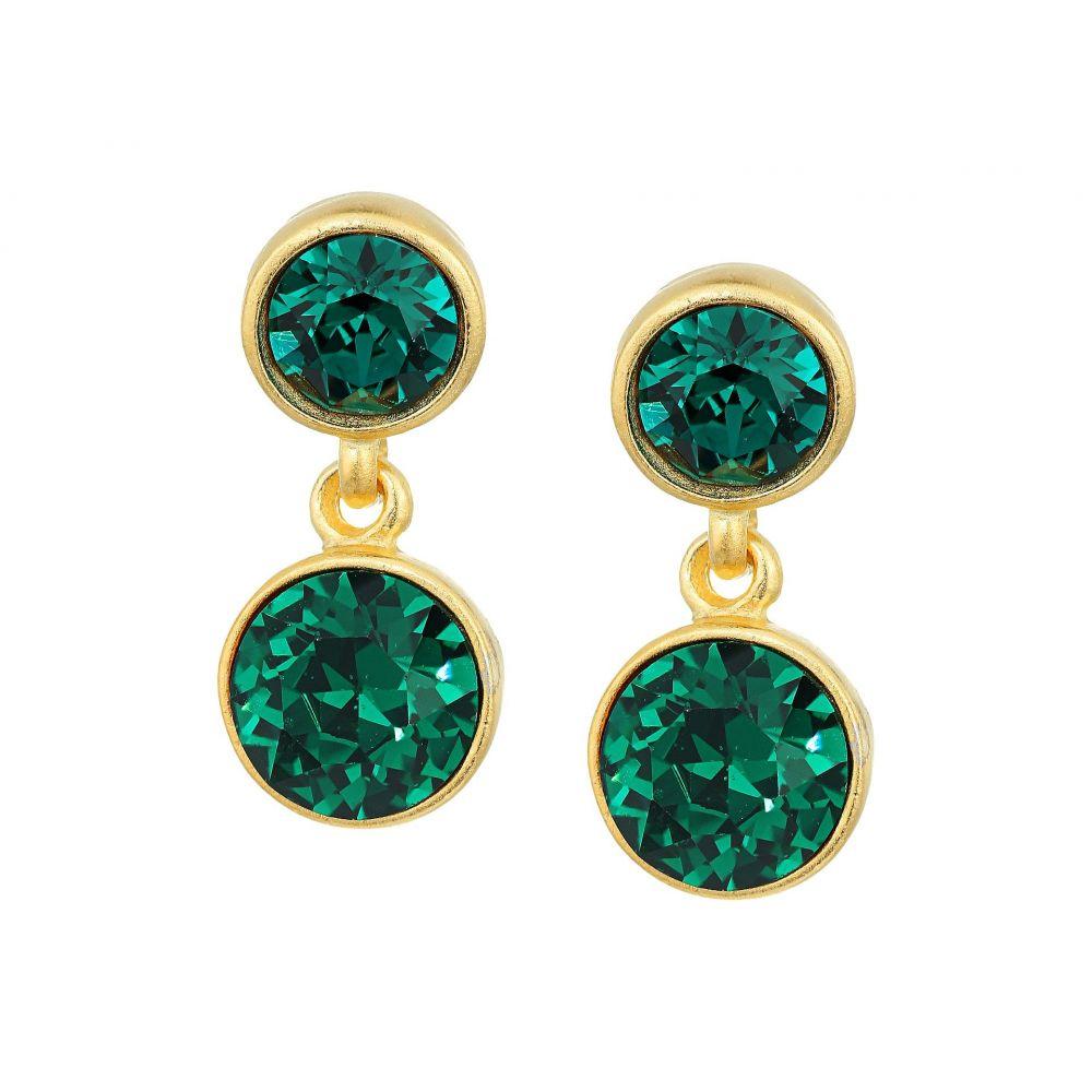 ケネスジェイレーン レディース ジュエリー・アクセサリー イヤリング・ピアス【Double Bling Earrings】Emerald
