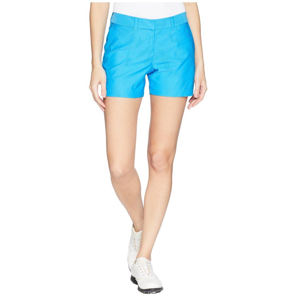 ナイキ レディース ゴルフ ボトムス・パンツ【Woven 4.5 Sub Print Flex Shorts】Equator Blue/Blue Nebula/Equator Blue