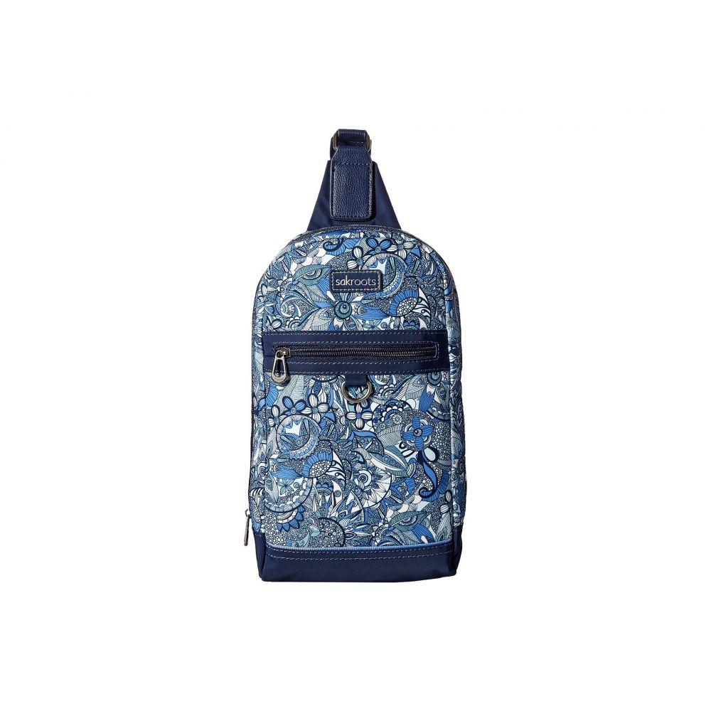 サックルーツ レディース バッグ バックパック・リュック【New Adventure Hiker Sling Backpack】Blue Steel Spirit Desert
