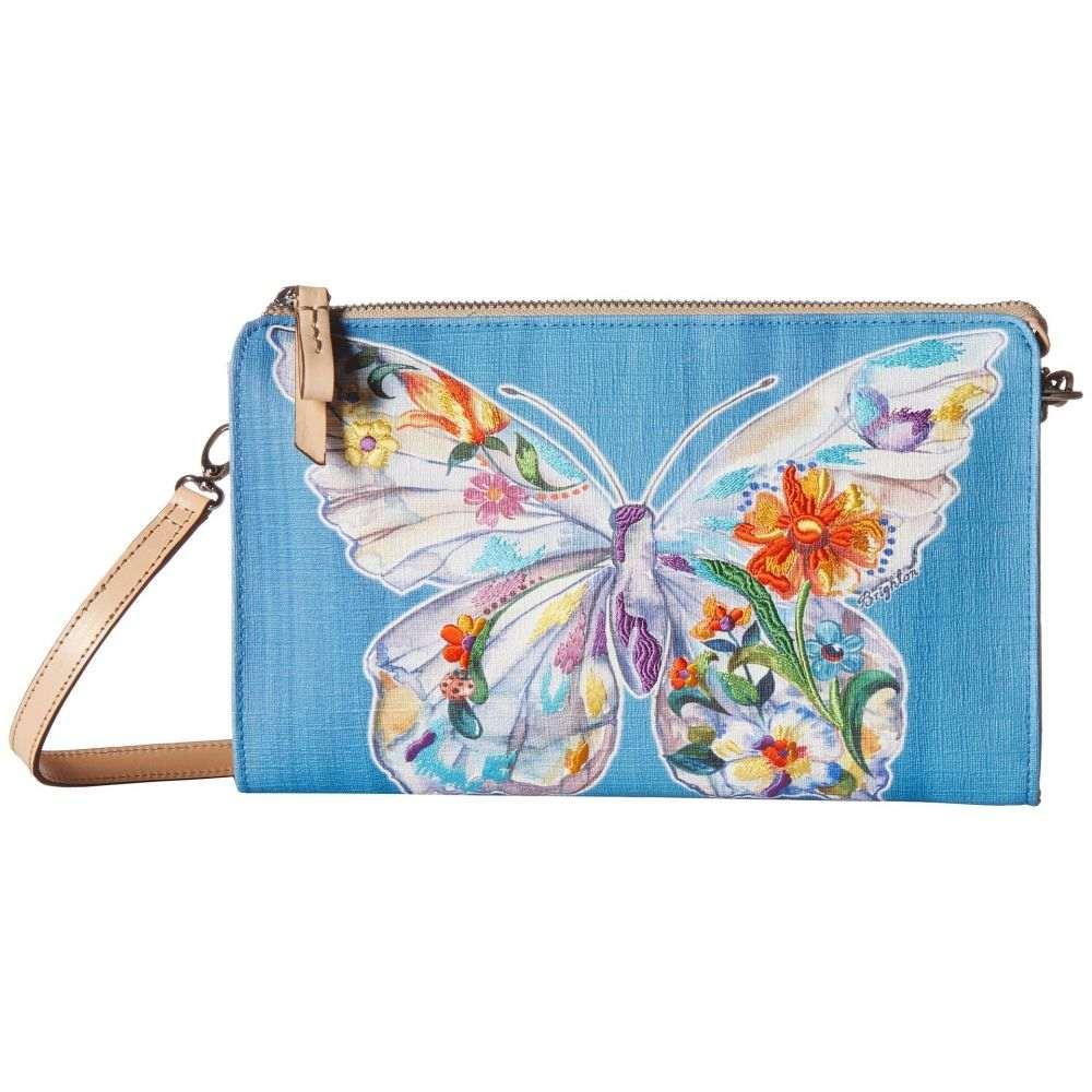 ブライトン レディース バッグ クラッチバッグ【Belle Jardin Flutter Embroidered Pouch】Multi