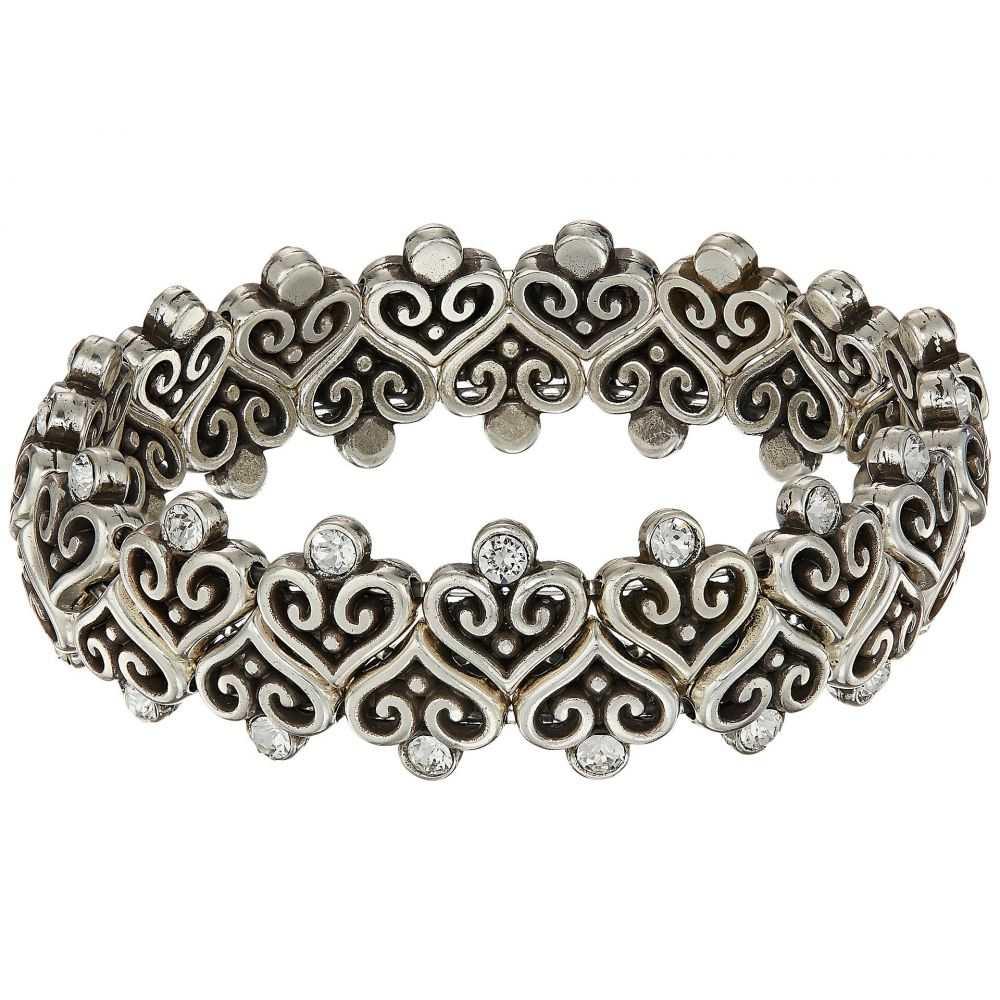 ブライトン レディース ジュエリー・アクセサリー ブレスレット【Alcazar Heart Stretch Bracelet】Crystal