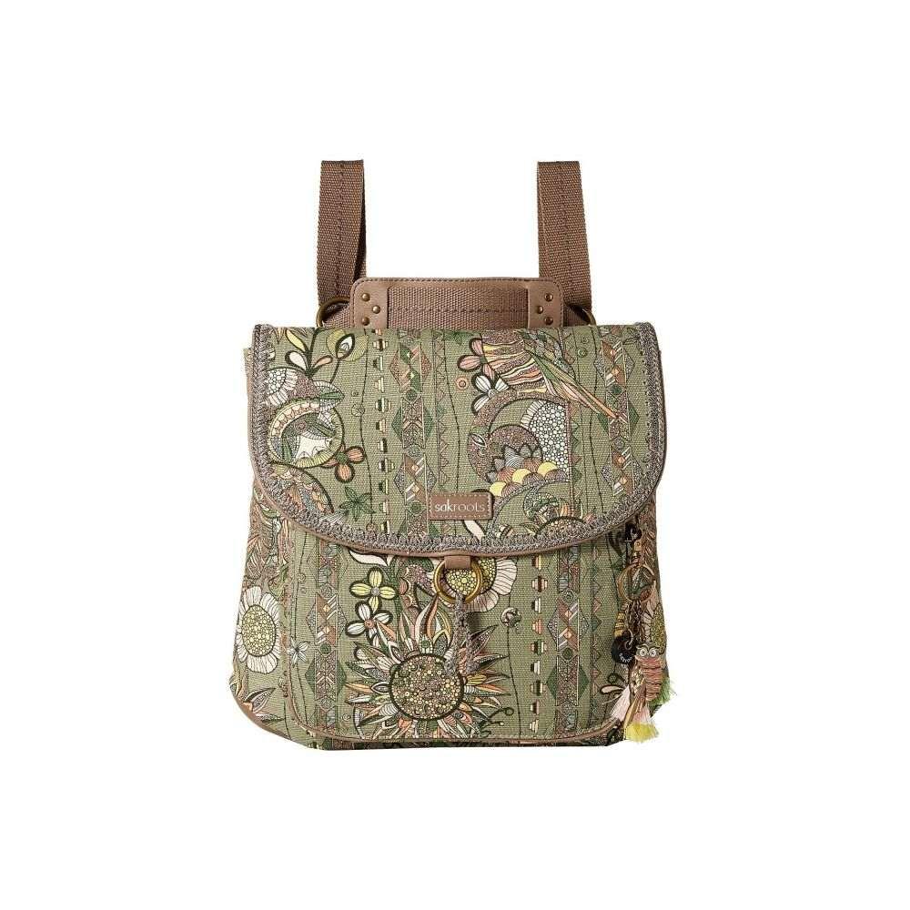 サックルーツ レディース バッグ バックパック・リュック【Convertible Backpack】Olive Spirit Desert