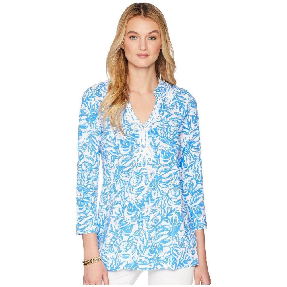 リリーピュリッツァー レディース トップス チュニック【Kaia Knit Tunic】Resort White On A Roll