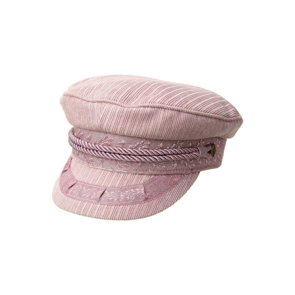 ブリクストン レディース 帽子【Albany Cap】Lilac Cord