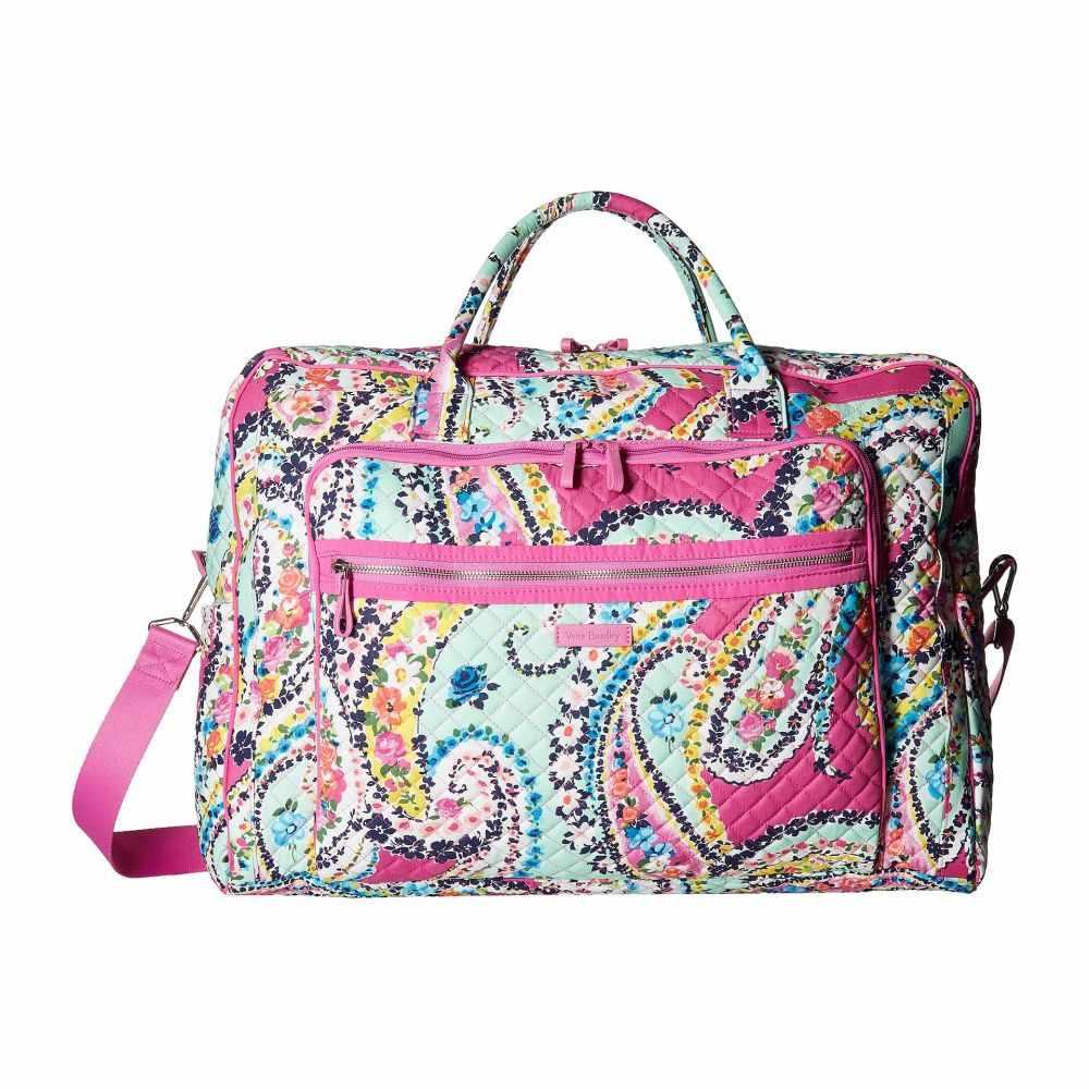 ヴェラ ブラッドリー レディース バッグ ボストンバッグ・ダッフルバッグ【Iconic Grand Weekender Travel Bag】Wildflower Paisley