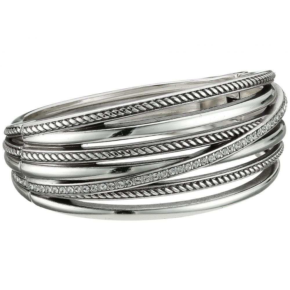 ブライトン レディース ジュエリー・アクセサリー ブレスレット【Neptune's Ring Hinged Bracelet】Crystal