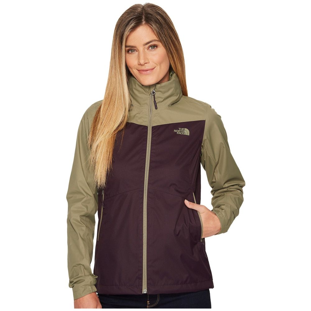 ザ ノースフェイス レディース アウター レインコート【Resolve Plus Jacket】Galaxy Purple/Deep Lichen Green