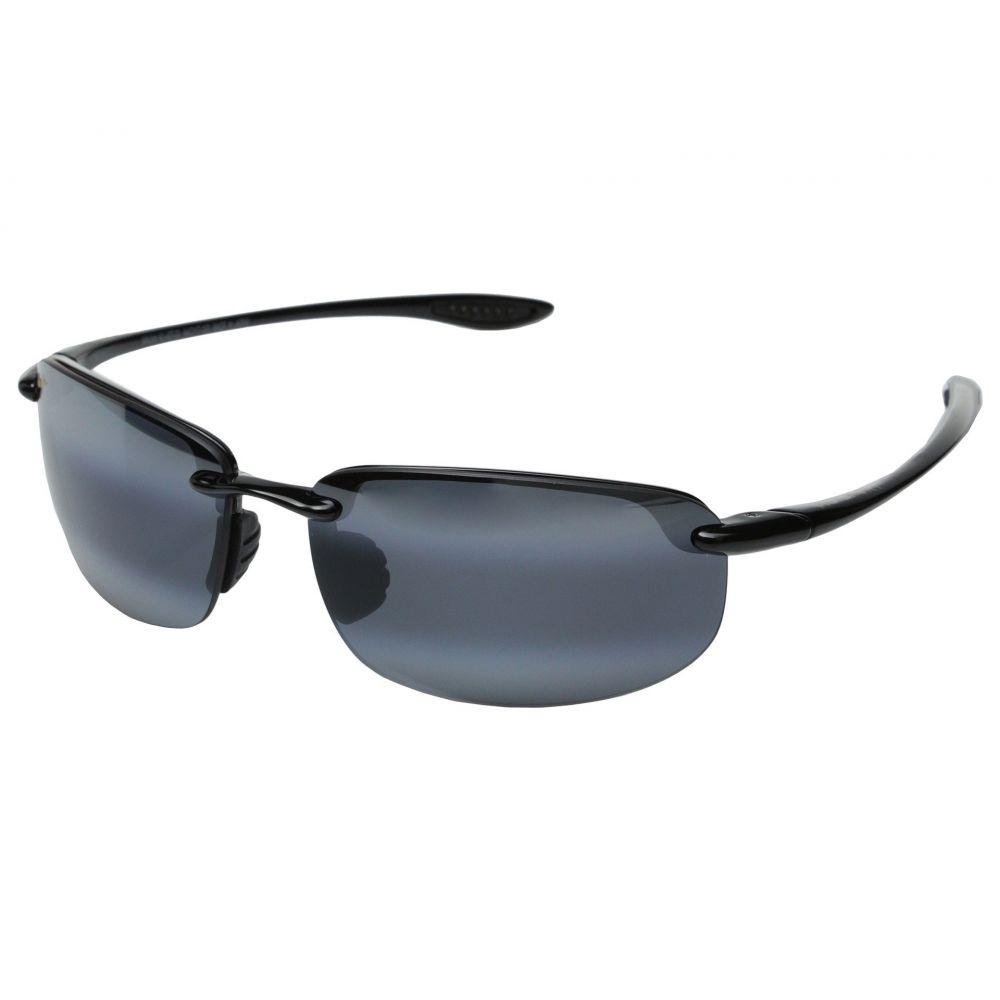 マウイジム レディース スポーツサングラス【Ho'okipa】Gloss Black/Neutral Grey Lens