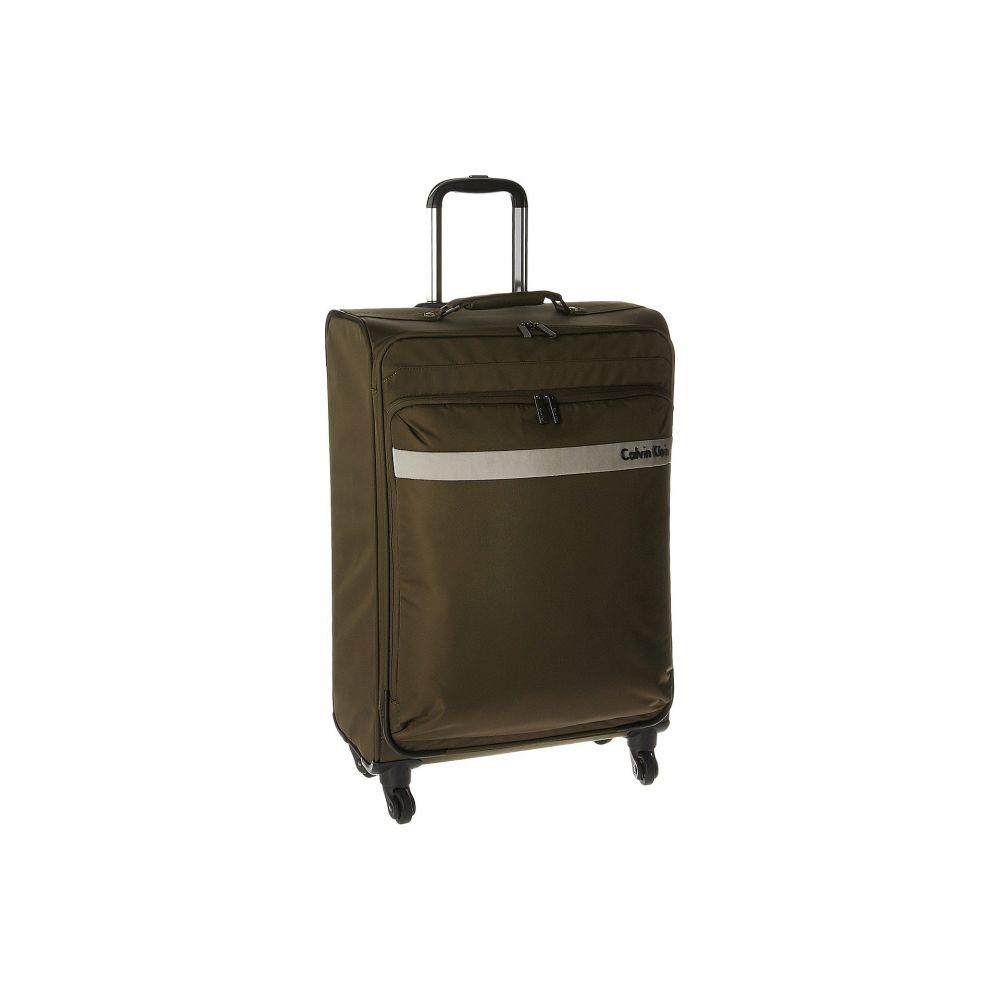 カルバンクライン レディース バッグ スーツケース・キャリーバッグ【Flatiron 3.0 25 Upright Suitcase】Brown