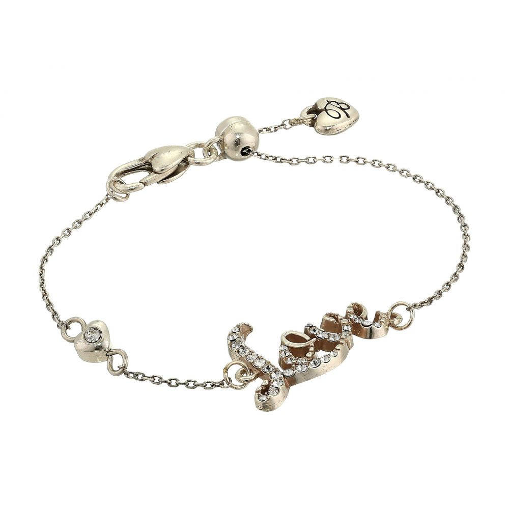 ブライトン レディース ジュエリー・アクセサリー ブレスレット【Love Script Bracelet】Crystal