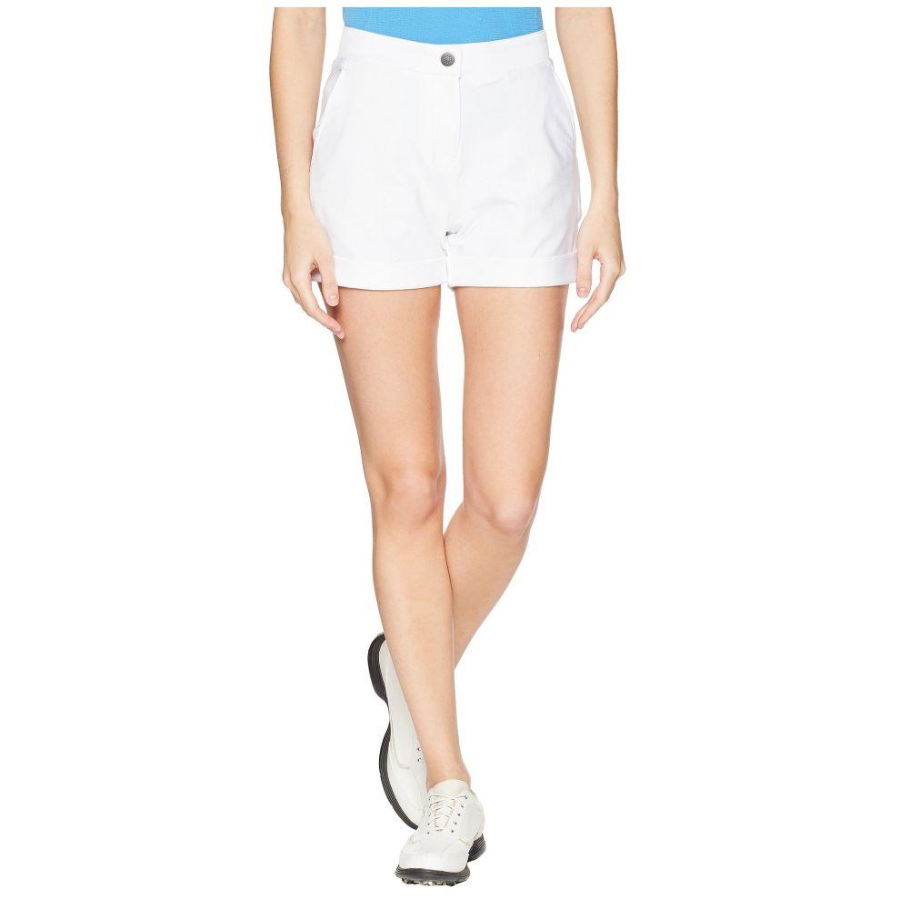 プーマ レディース ゴルフ ボトムス・パンツ【Solid Short Shorts】Bright White