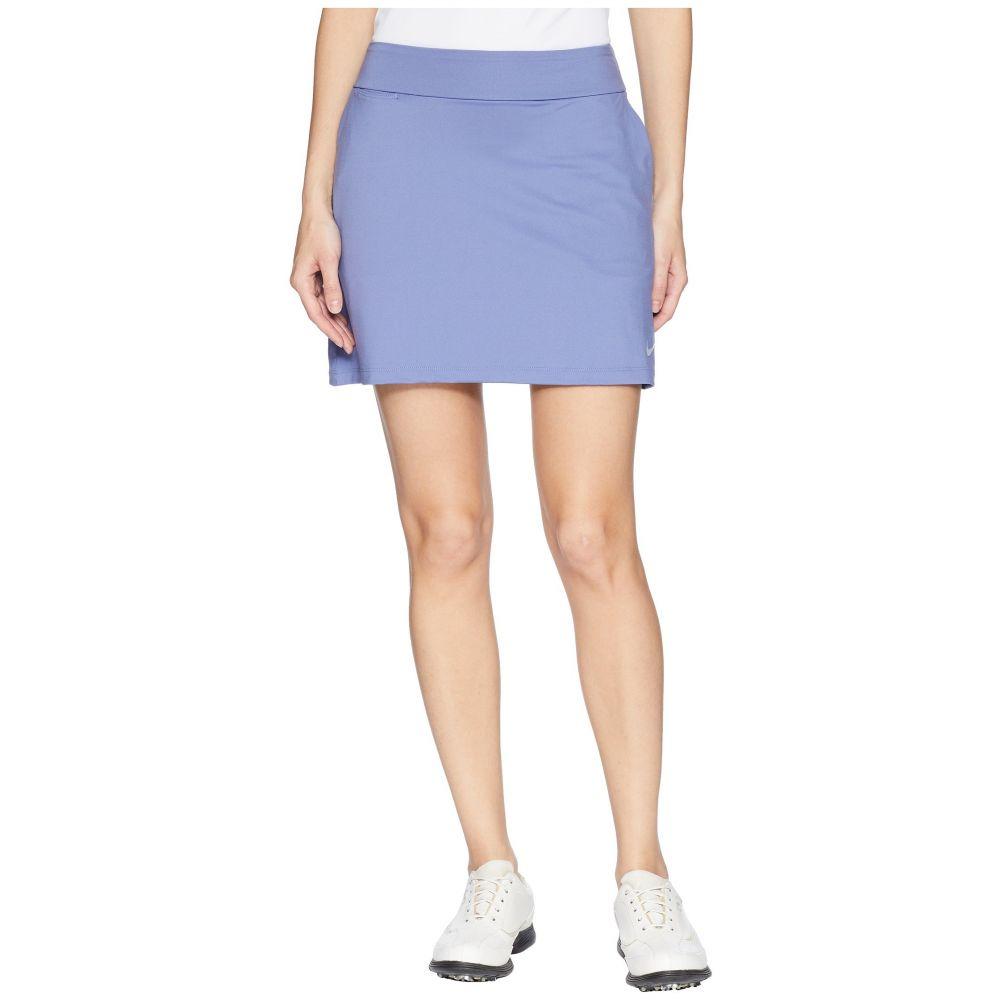 ナイキ レディース ゴルフ ボトムス・パンツ【Dry Skort Knit 16.5】Purple Slate/Flat Silver
