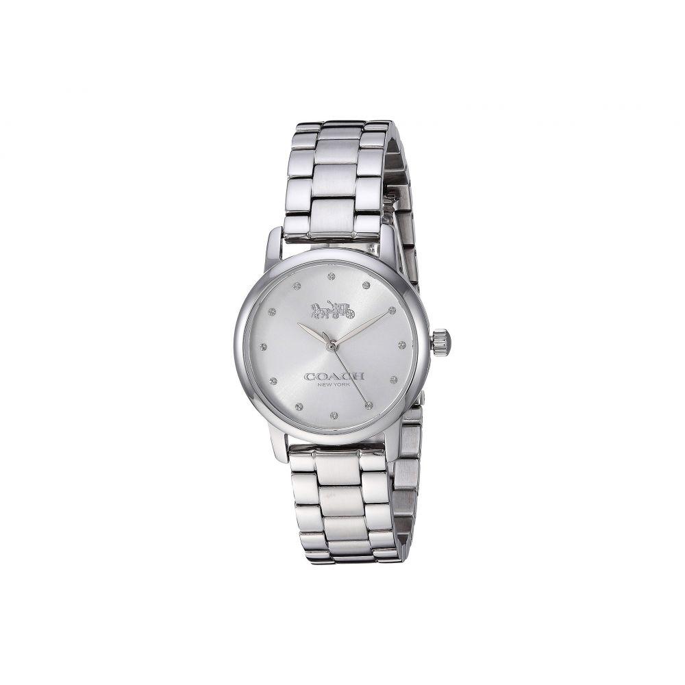コーチ レディース 腕時計【Grand - 14503001】Silver White