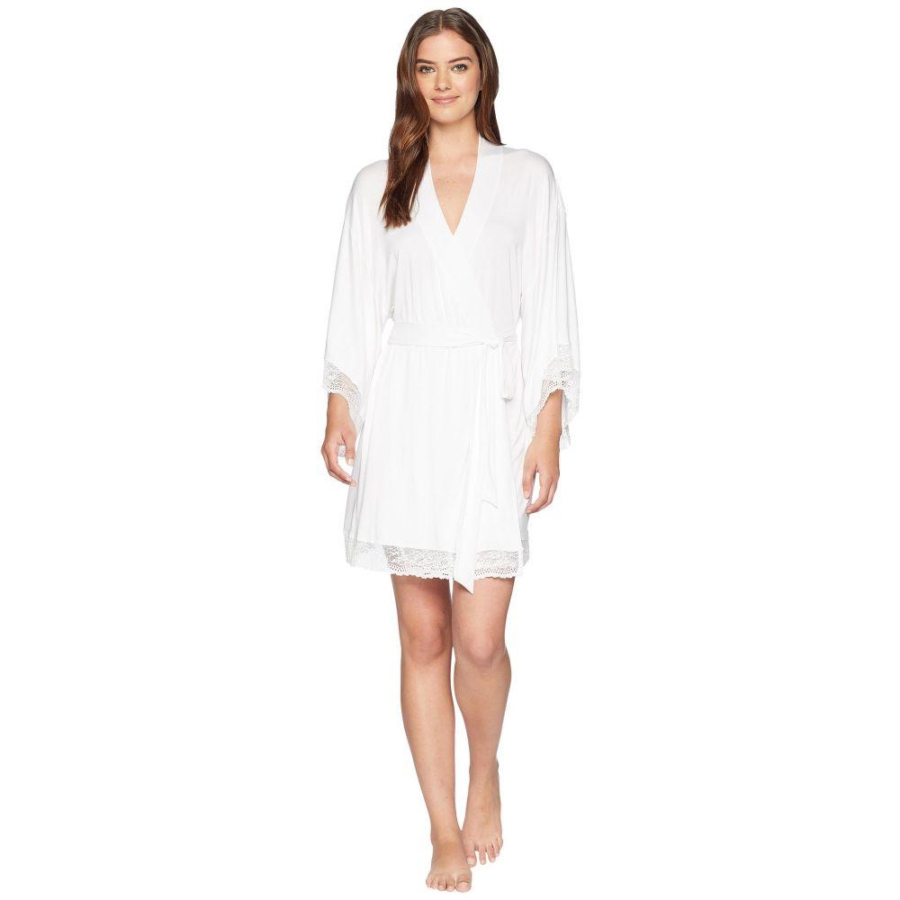 エバージェイ レディース インナー・下着 ガウン・バスローブ【Colette Kimono Robe】White