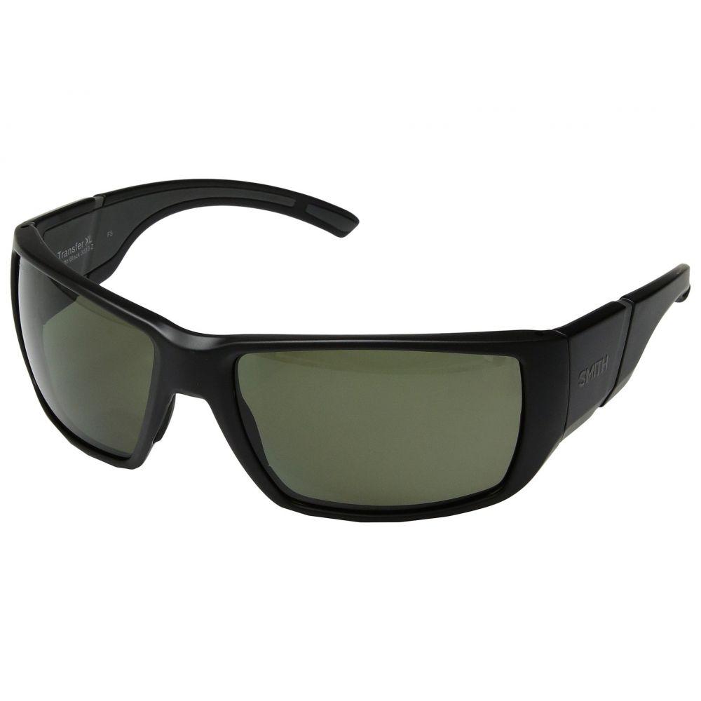 スミス オプティクス レディース スポーツサングラス【Transfer XL】Matte Black/Gray Green ChromaPop邃「 Polarized Lens