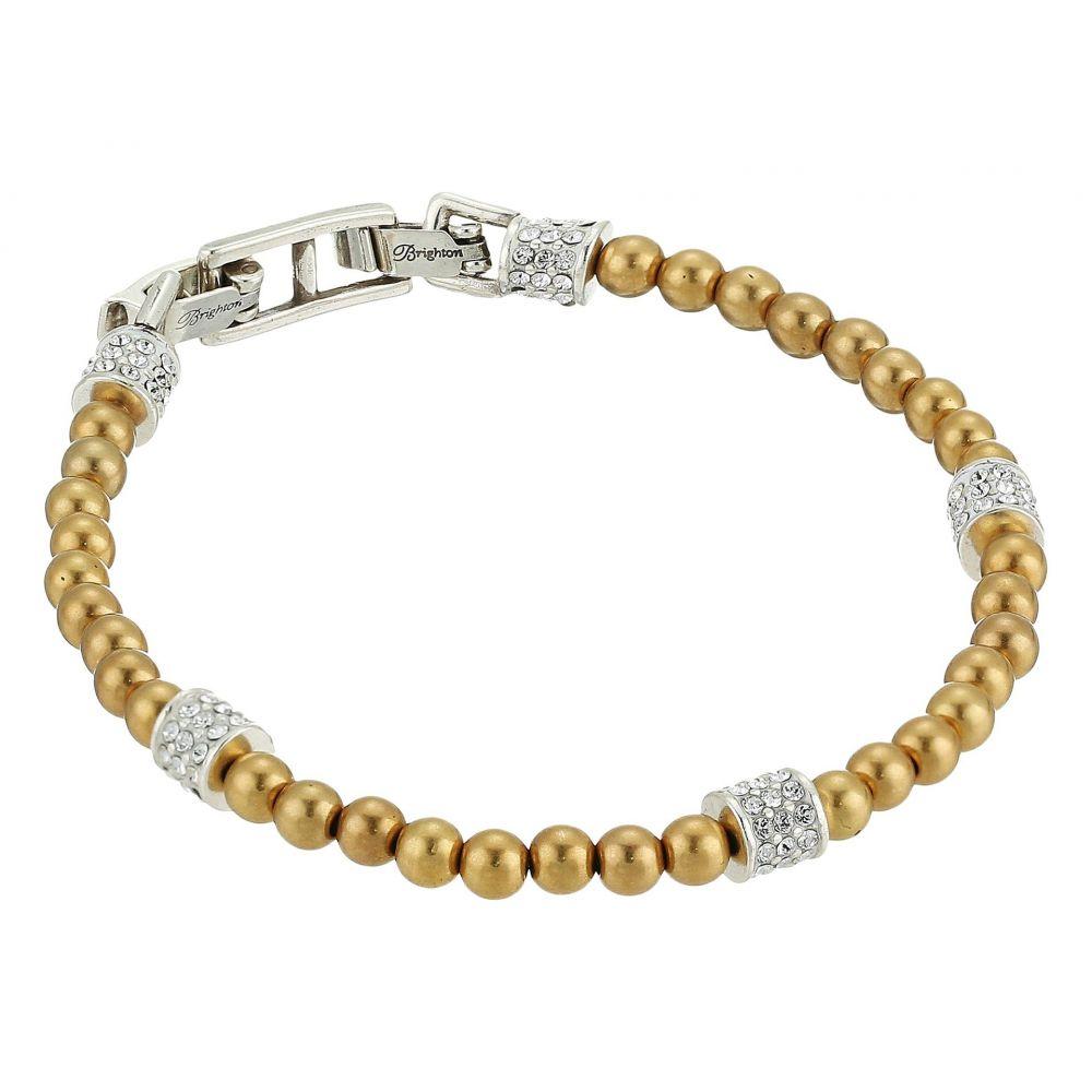 ブライトン レディース ジュエリー・アクセサリー ブレスレット【Meridian Petite Bracelet】Gold