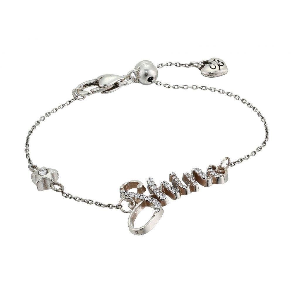 ブライトン レディース ジュエリー・アクセサリー ブレスレット【Shine Script Bracelet】Crystal