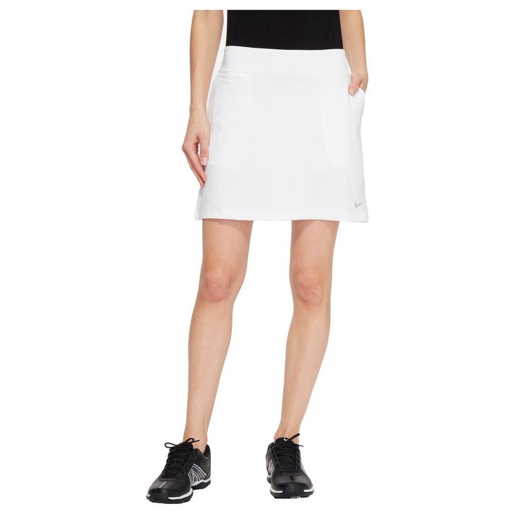 ナイキ レディース ゴルフ ボトムス・パンツ【Dry Skort Knit 16.5】White/Black