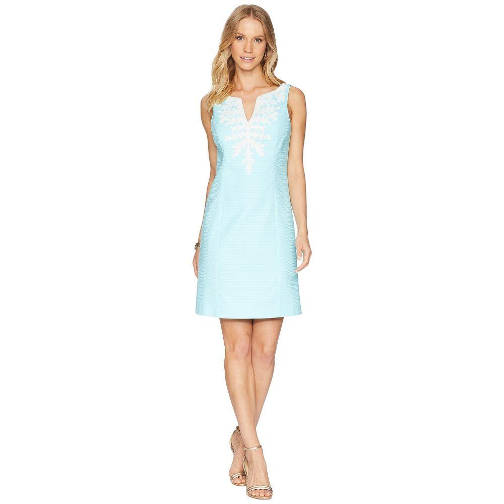 リリーピュリッツァー レディース ワンピース・ドレス ワンピース【Gabby Shift Dress】Seasalt Blue